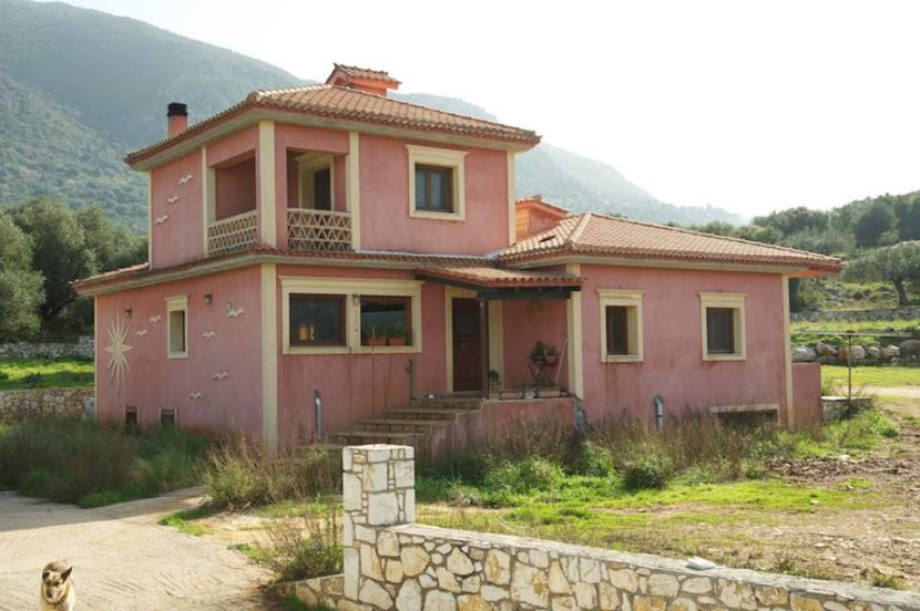 Eco-bioclimatic villa near Sami Kefalonia