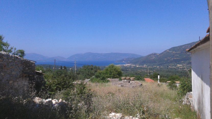 Panoramic view plot in Haliotata, Kefalonia